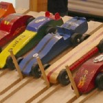 Pinewood Derby Rolls Into Town