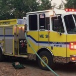 UPDATE: Crest Forest Fire Selects County Fire