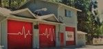 The existing Angelus Oaks Fire Station -- built over 40 years ago -- could be on the road to re-placement if supervisors approve a solicitation of bids for a replacement building. (Photo by San Bernardino County Fire)