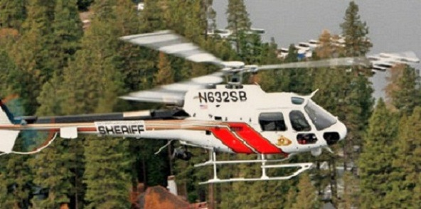 Sheriff's Aviation Conducts a Hoist Rescue of an Injured Rock Climber