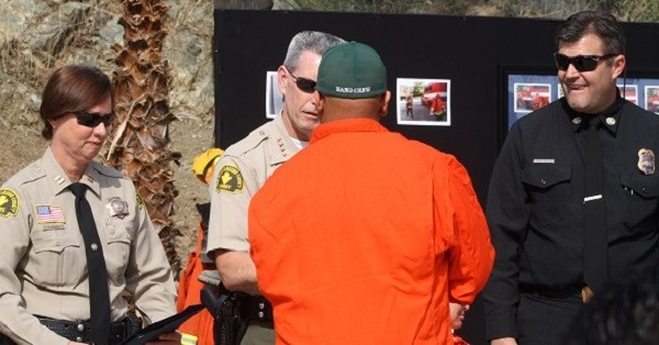 Inmate Fire Crew Commencement Includes Two Mountain Residents