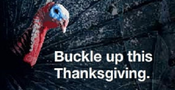This Thanksgiving Buckling Up Could Save Your Giblets