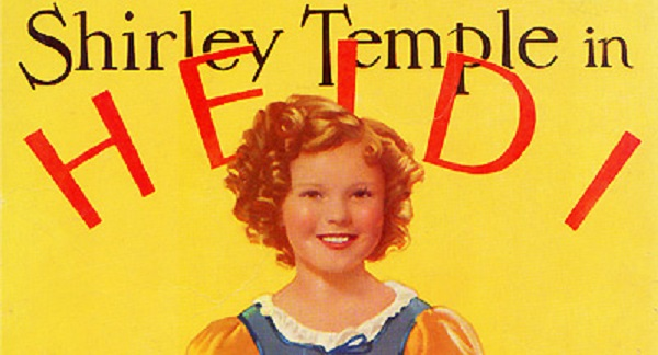 W. Lee Cozad Movie Show April 7: HEIDI With Shirley Temple