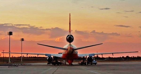 Tanker 910 Flies Off Into The Sunset: New 910 Tanker Ready For Fire Season