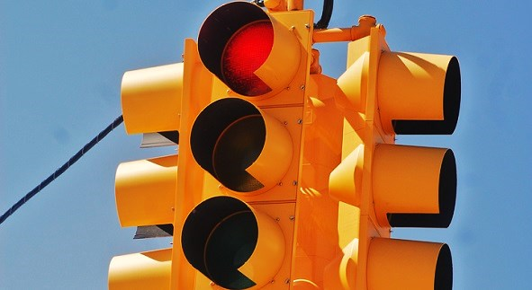 Temporary Traffic Signal Installed On Highway 38 Near Barton Flats (VIDEO)