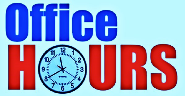 Regular Office Hours