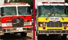 Crest Forest Fire Annexation Into County Fire Approved by LAFCO