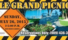 """""""Under Construction"""" Theme For Annual Le Grand Picnic July 26"""