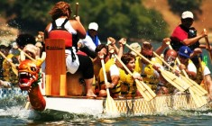 Lake Gregory Hosts 9th Annual Dragon Boat Races