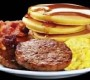 Station 98 Breakfast Includes Pancakes, Bacon, Sausage And More
