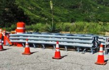 HIGHWAY 18: First Thrie-Beam Median Sections Moved Into Work Zone