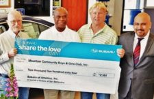 Boys & Girls Club Benefits From Subaru's SHARE THE LOVE Campaign