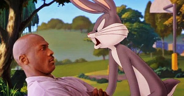 MOUNTAIN MOVIES: Space Jam (1996) With Michael Jordan And Bugs Bunny