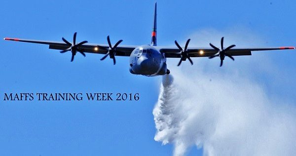C-130 Military Aircraft Conduct Annual Wildfire Training Exercise (VIDEO)