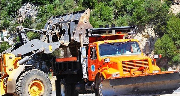 HIGHWAY 18: Dust From Caltrans Construction Prompts Reports Of Fire