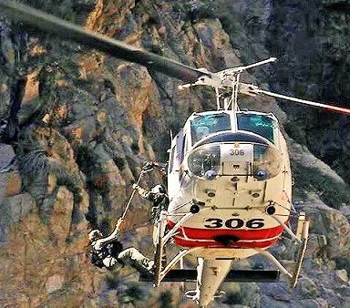 40 King Rescue at Aztec Falls Twin Peaks