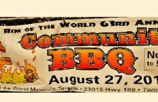 63rd Annual Rim Of The World Community BBQ Offers Deep Pit Beef And Pork