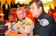 BLUE CUT FIRE: Supervisors Briefed By Fire Chief And Sheriff