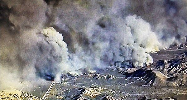 BLUE CUT FIRE: Preliminary Operational Costs Top $12 Million