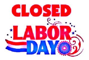 LABOR DAY Closed 16
