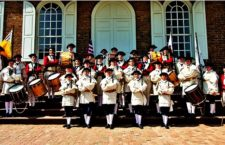Mountain Fifes & Drums Raise Travel Fund with March - Around