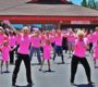 Participants Await Results Of Bear Valley Hospital's Pink Gloves Video Entry