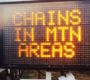 CHAIN CONTROLS: Now in Effect in Mountain Communities - Update 5 - Wednesday Jan 10 - 9:31a.m...