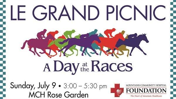 WE'RE OFF TO THE RACES!!!! 26th Annual Le Grand Picnic - Sunday July 9