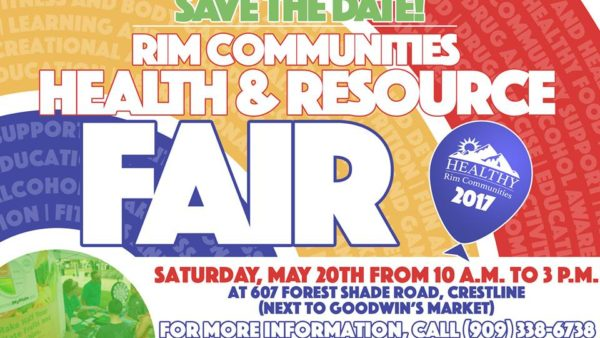 Rim Communities Health Fair -- Saturday May 20, 2017