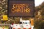 All CHAIN CONTROLS Have Been Removed: (UPDATE) Always Carry Chains And Emergency Supplies